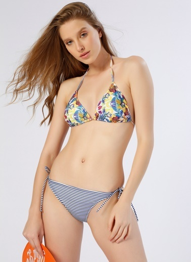 T-Box Bikini Alt Lacivert